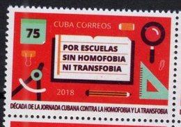 EDUCATION,  2018, MNH, SCHOOLS WITHOUT HOMOPHOBIA, 1v - Briefmarken
