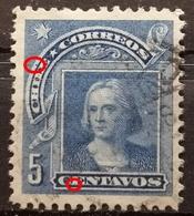 COLUMBUS-5 C - ERROR - CHILE-1905 - Chile