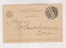 CROATIA HUNGARY KARLOVAC 1908 Postal Stationery + Poster Stamps - Croazia