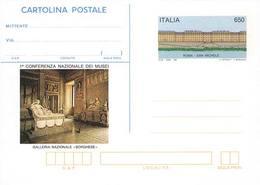 59904) ITALIA -INTERO POSTALE DA 650 LIRE Musei - Cartolina Postale - 3 Dicembre 1990 - Ganzsachen