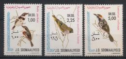 Somalia - 1980 - N°Yv. 255 à 257 - Oiseaux / Birds - Neuf Luxe ** / MNH / Postfrisch - Somalië (1960-...)