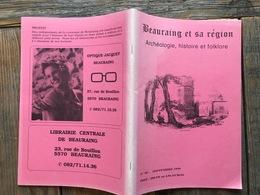 BEAURAING Et Sa Région 18 Cinéma Familia Winenne Brasserie école Javingue-Sevry Pondrôme Histoire Régionalisme Folklore - Culture