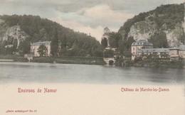 Marche-les-Dames ( Namur ) , Le Chateau , COLORISEE ( Le Vieux Chateau Des Prince D'Arenberg )n° 17 - Namen