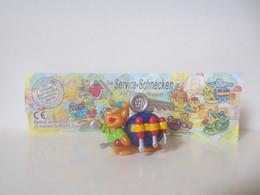 Kinder Surprise Deutch 1999/ 2000 : N° 649856 + BPZ - Montables