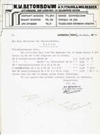 NV Betonbouw V/h Fa. Kool & Wildeboer, Hoogkerk, Deventer,1929 - Netherlands
