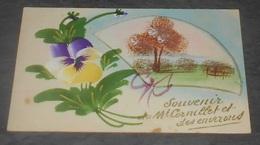 51 - Souvenir Du Mt Cornillet Et Ses Environs :: Carte Toilée ----- 548 - Other Municipalities
