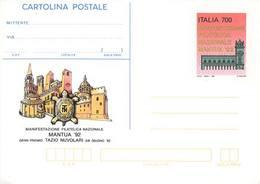 59902) ITALIA -INTERO POSTALE DA 700 LIRE Mantua 1992 - Cartolina Postale - 5 Giugno 1992 - Ganzsachen