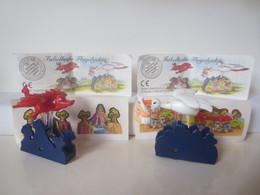 Kinder Surprise Deutch 1999/ 2000 : Série + 2 BPZ + 2 Stickers - Montables