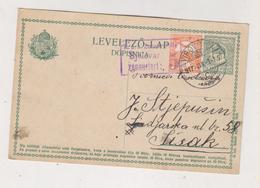 CROATIA HUNGARY VIROVITICA 1917 Censored Postal Stationery - Croazia