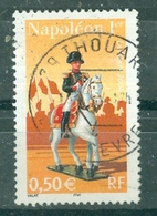 FRANCE - N° 3682 Oblitéré - Personnages Célèbres. Napoléon Et La Garde Impériale. Napoléon 1er à Cheval. - France