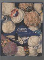 Lyon : Publicité Carton épais (PLV)  LAINES DE LA FIDELE TOURTERELLE (M0120) - Publicités