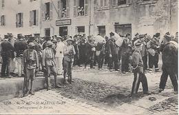 ILE De RE  ( 17 ) -  SAINT MARTIN  - Embarquement De Forçats Devant La Gendarmerie Nationale - Prigione E Prigionieri