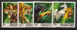 Singapore - 1973 - N°Yv. 201 à 204 - Faune / Animals - Neuf Luxe ** / MNH / Postfrisch - Singapore (1959-...)