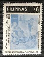 141. PHILIPPINES 1998 USED STAMP CINEMA, PHILIPPINE ART - Filipinas