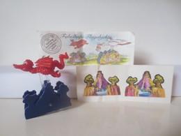 Kinder Surprise Deutch 1999/ 2000 : N° 649627 + BPZ + Stickers - Montables