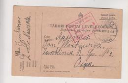 CROATIA HUNGARY NOVSKA 1915 Censored Military Stationery - Croazia