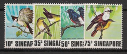Singapore - 1978 - N°Yv. 294 à 297 - Faune / Oiseaux - Neuf Luxe ** / MNH / Postfrisch - Singapore (1959-...)