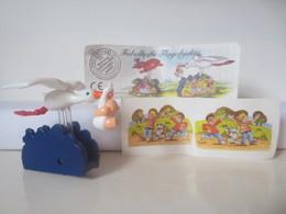 Kinder Surprise Deutch 1999/ 2000 : N° 649678 + BPZ + Stickers - Montables