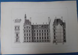 BRUXELLES 6 PLANS 52 X 35 CM - ARCHITECTURE H.BEYAERT - VOOR HET ,, MINISTERE DES CHEMINS DE FER ,, ZIE 6 AFBEELDINGEN - Architecture