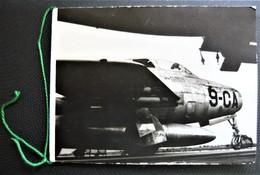 Carte De Vœux  -  Escadron 1/9 LIMOUSIN - Armée Air-  France - Avion De Chasse - à Réaction - Militaire - F-84F - Militaria