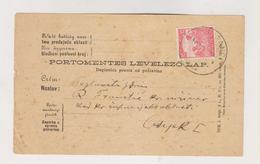 CROATIA HUNGARY FERICANCI 1917 Postcard - Croazia