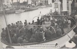 ILE De RE  ( 17 ) -  SAINT MARTIN  - Embarquement Des Forçats Pour La Guyane - Prison