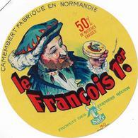 ETIQUETTES  DE   FROMAGE NEUVE  SAFR  CAMEMBERT NORMANDIE  CANEHAN SEINE MARITIME LE FRANCOIS PREMIER - Cheese
