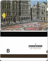 Belgium - Alcatel Test Card - Brussels, Gand'Place - 1991, Letter B, Used - Dienst & Test