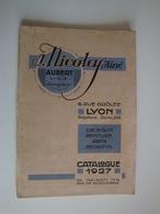 Catalogue De Fournitures Générales De Dessin,Aquarelle,Peinture à L'Huile,Arts Décoratifs J-NICOLAS à Lyon - Alte Papiere