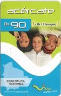 Bolivia - Viva - Acércate 3 Women, 27.06.2007, GSM Refill 90Bs, Used - Bolivië