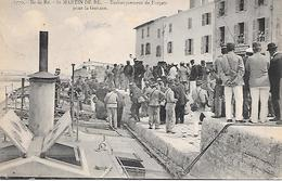 ILE De RE  ( 17 ) -  SAINT MARTIN  - Embarquement De Forçats Pour La Guyane - Prison