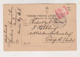 CROATIA HUNGARY VUKOVAR 1917 Postcard - Croazia