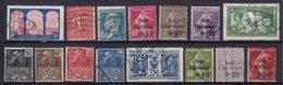 FRANCE - Année 1930/1 Complète Oblitérée TB - 15 Timbres - ....-1939