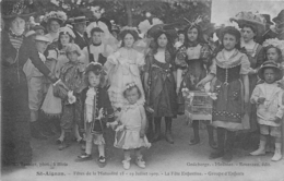 SAINT AIGNAN FETES DE LA MUTUALITE 1909 LA FETE ENFANTINE  GROUPE D'ENFANTS - Saint Aignan