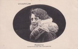 VIVARIUM  Rosina Charmeuse De Serpents - Cirque