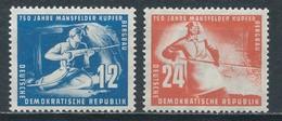 DDR 273/74 ** Mi. 18,- - Unused Stamps