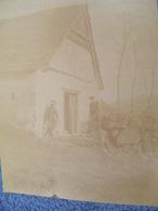 ATTENTION Photo Originale Dédicacée M.Gourdon - Italie - M.Gourdon à Sa Grange - Vallée Du Lys - 1884 - SUP - (Ph 83) - Altri
