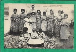 Birmandreis (Alger) Soeurs Missionnaires De N.-D. D'Afrique Orphelins Indigènes Autour Du Plat De Couscous 2scans - Algiers