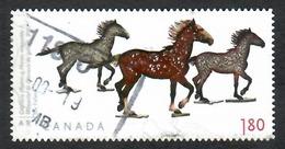 Sc. # 2525 Art Canada, Joe Fafard, Capillary Internatioal Rate Single 2012 Used K648 - 1952-.... Règne D'Elizabeth II