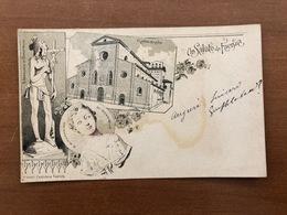 UN SALUTO DA FAENZA   1909 - Faenza