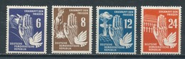 DDR 276/79 ** Mi. 20,- - Unused Stamps