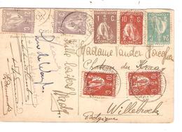 REF1245/ PC Convento Da Batalha C.Alcobaça 29/3/23 > Belgique Willebroek - Lettres & Documents