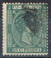 Sello 25 Cts Alfonso XII, Colonia Española PUERTO RICO 1878,  Num 20 º - Puerto Rico