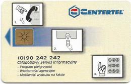 Poland - Centertel (Komorkowa) - Pielgrzymka Ojca Świętego Do Ojczyzny - 10Ca - 1997, 10.000ex, Used - Polonia