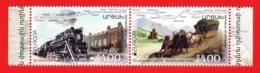 Armenien / Armenie / Armenia / Karabakh 2020, EUROPA CEPT, Ancient Postal Routes, Strip - MNH - Armenien