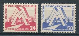 DDR 282/83 ** Mi. 32,- - Unused Stamps