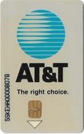 Slovakia - T-com - AT&T, 02.1995, 50Units, 10.000ex, Used - Slowakije
