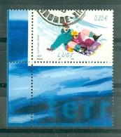 FRANCE - N° 3695 Oblitéré - Les Sports De Glisse. - Luge.    (Coin De Feuille) - France