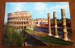 ROMA Colosseo Cartolina Viaggiata - Colisée