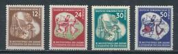 DDR 289/92 ** Mi. 55,- - Unused Stamps
